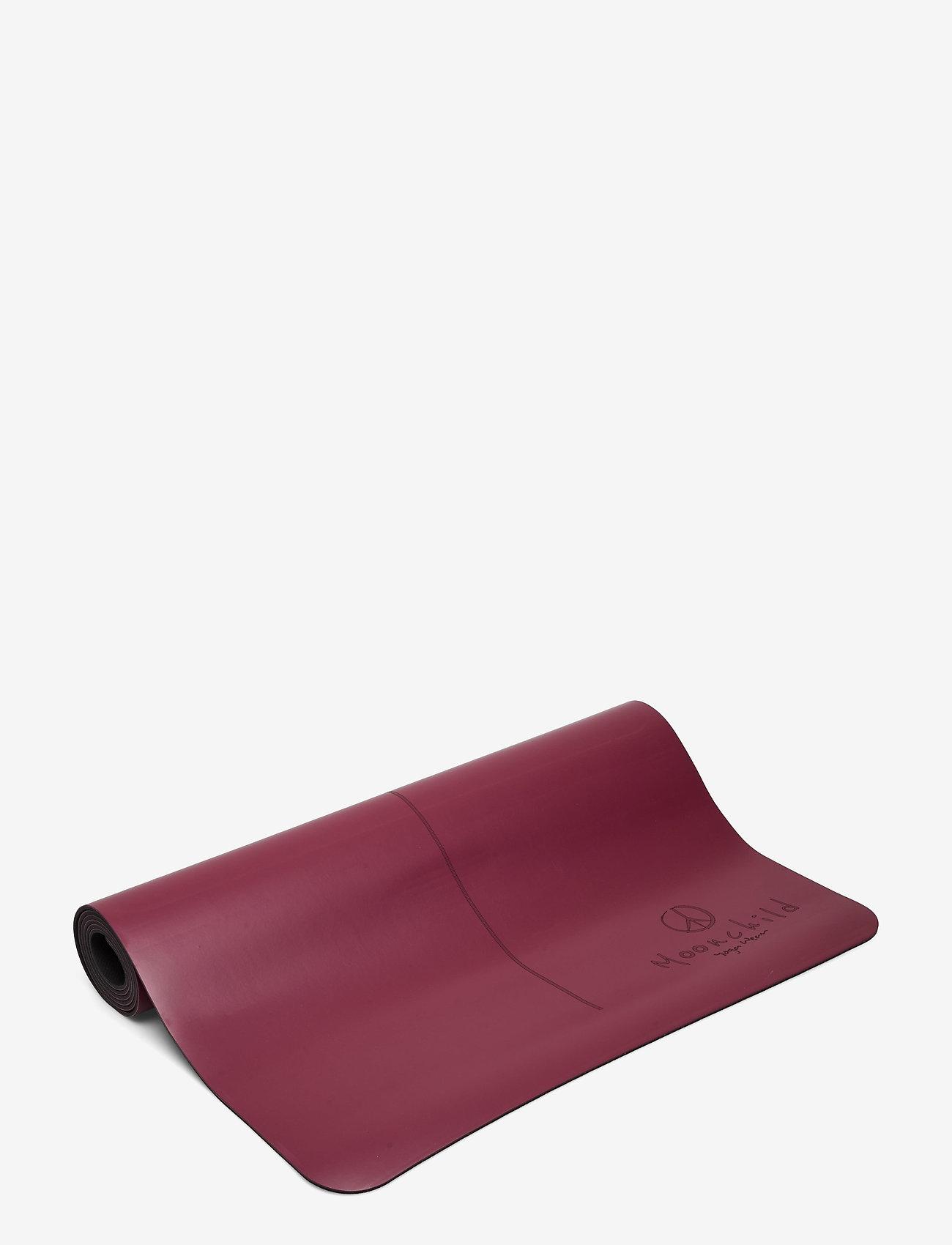 Moonchild Yoga Wear - Moonchild Yoga Mat - yogamatten en -accessoires - plum - 0
