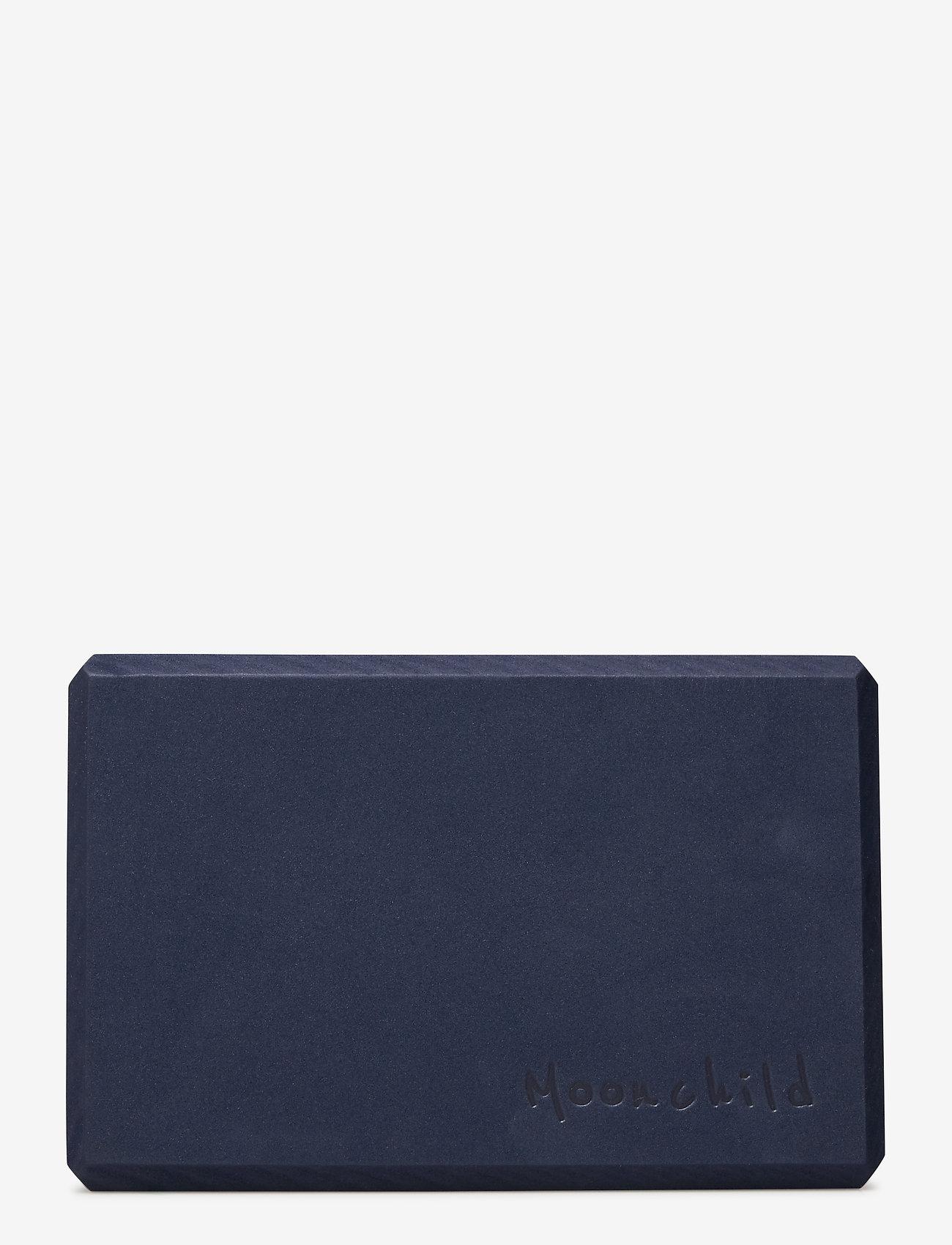 Moonchild Yoga Wear - Moonchild Foam Block - yogamatten & uitrusting - navy blue - 1