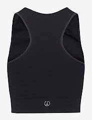 Moonchild Yoga Wear - Seamless Crop Top - crop tops - onyx black - 2