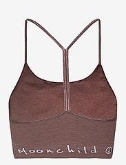 Moonchild Yoga Wear - Seamless Zen Top - urheiluliivit: matala tuki - earth - 2