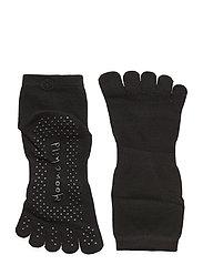 Moonchild Grip Socks - High - ONYX BLACK