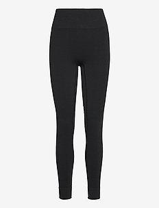 Seamless Leggings - løbe- og træningstights - onyx black