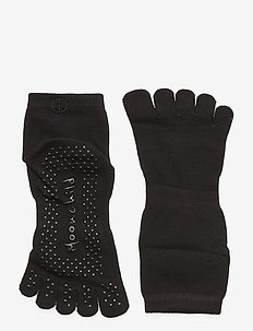 Moonchild Grip Socks - High - yogamattor & utrustning - onyx black