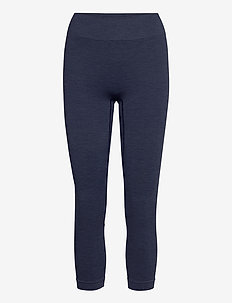 Seamless Leggings 7/8 - sportleggings - aura blue