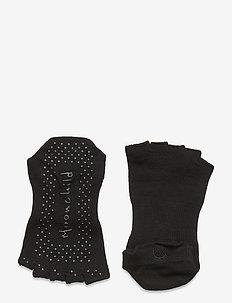 Moonchild Grip Socks - Low Rise - O - yogamatten & uitrusting - onyx black
