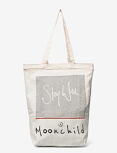Moonchild Tote Bag - tote bags - natural
