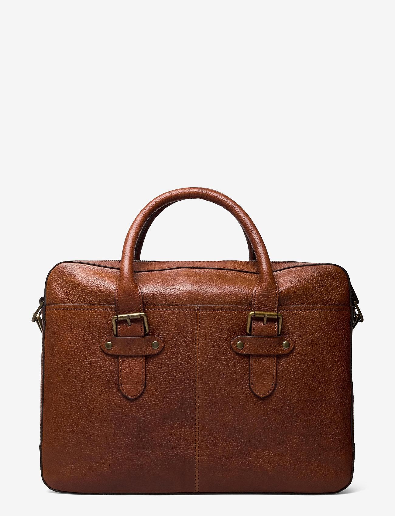 Morris Accessories - Gene - briefcases - midbrown - 1