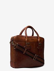 Morris Accessories - Gene - briefcases - midbrown - 2