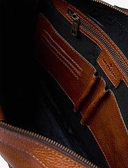 Morris Accessories - Gene - briefcases - midbrown - 4
