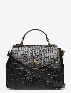 Lize - håndtasker - black croco