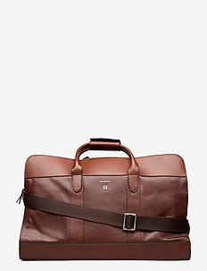 Duncan - weekend bags & suitcases - chestnut