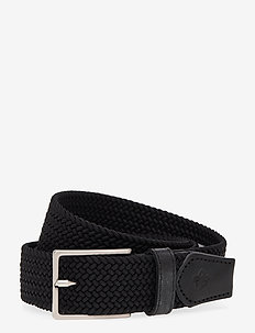 Gerard - ceintures tressées - black