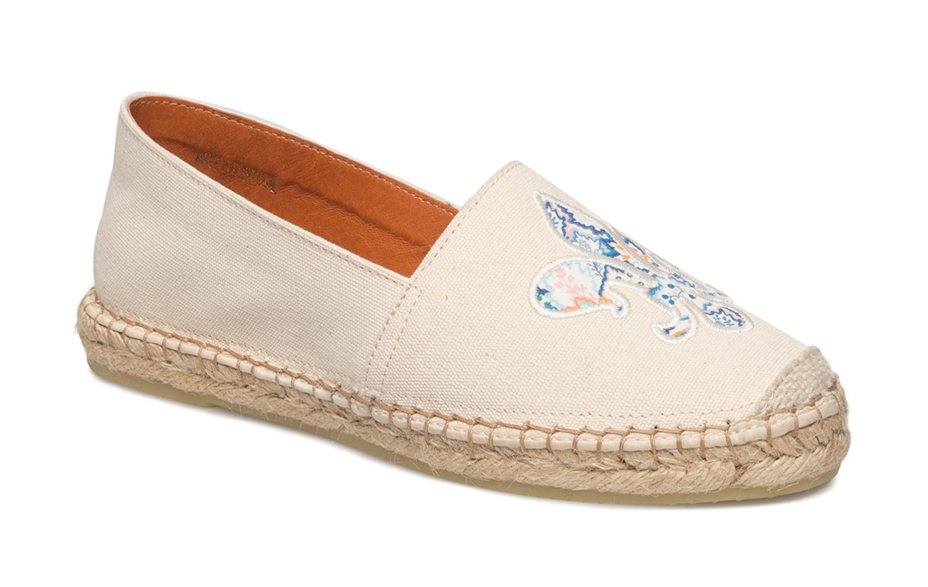 Morris Lady Lily Canvas Espadrille - OFF WHITE