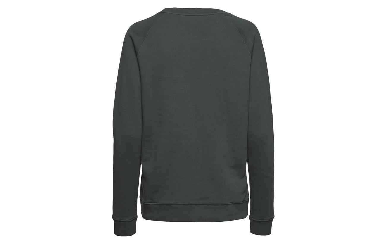 Sweatshirt Lady Red Wine Ivy Coton 100 Morris TSnqUEgE