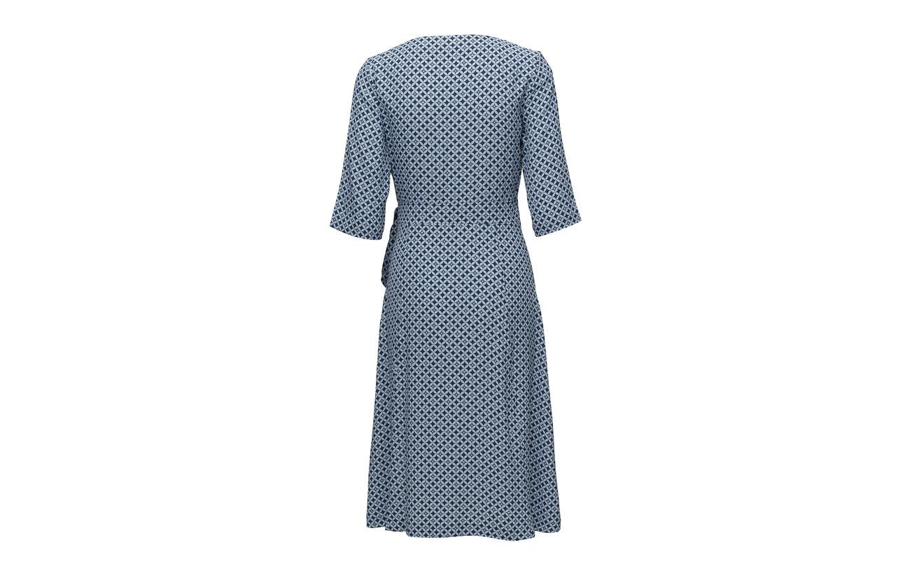 Print Équipement Morris Viscose Dress Black Lady Aimée 100 qxx8gXw