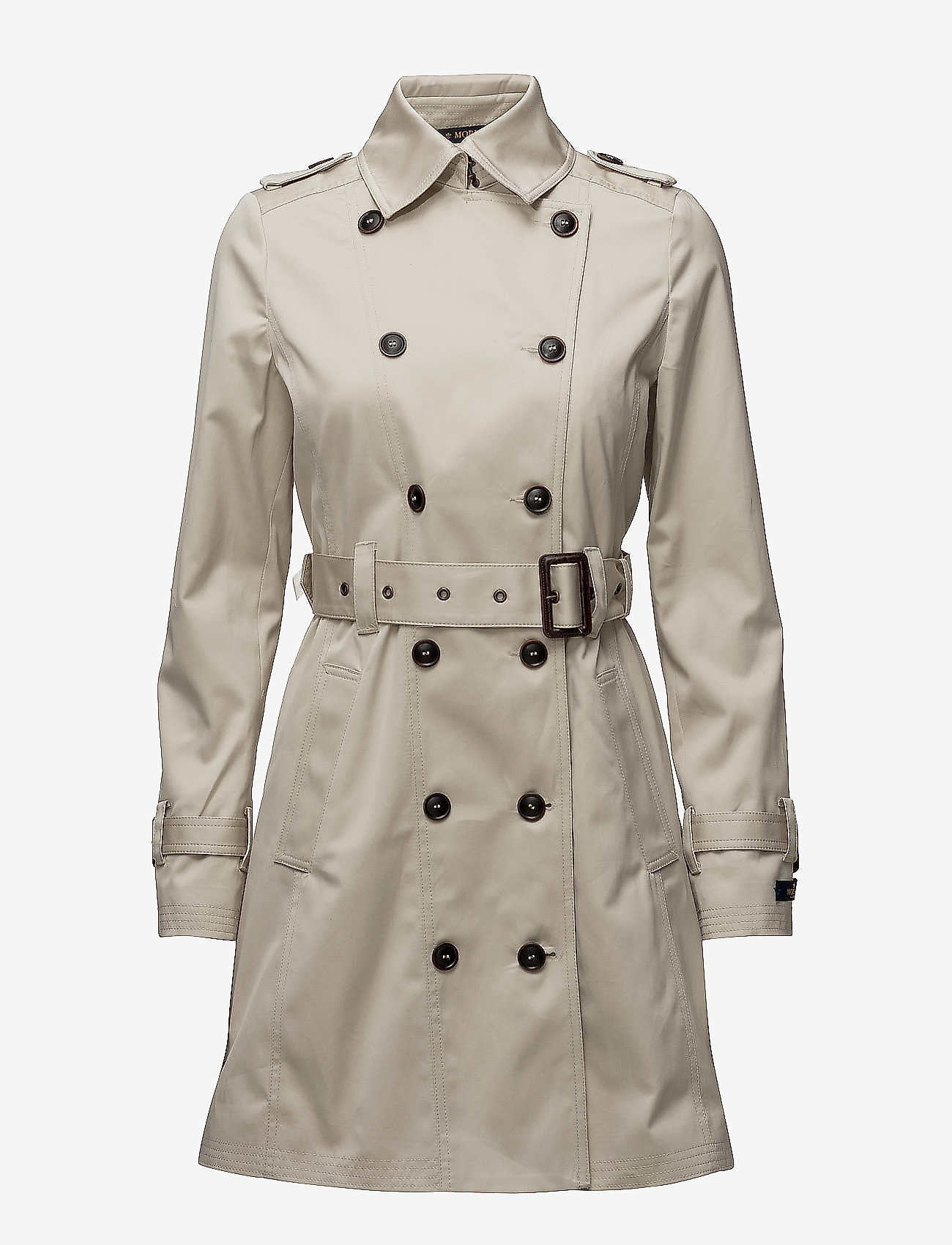 Morris Lady - Scarlett Trench - trenchcoats - off white - 1