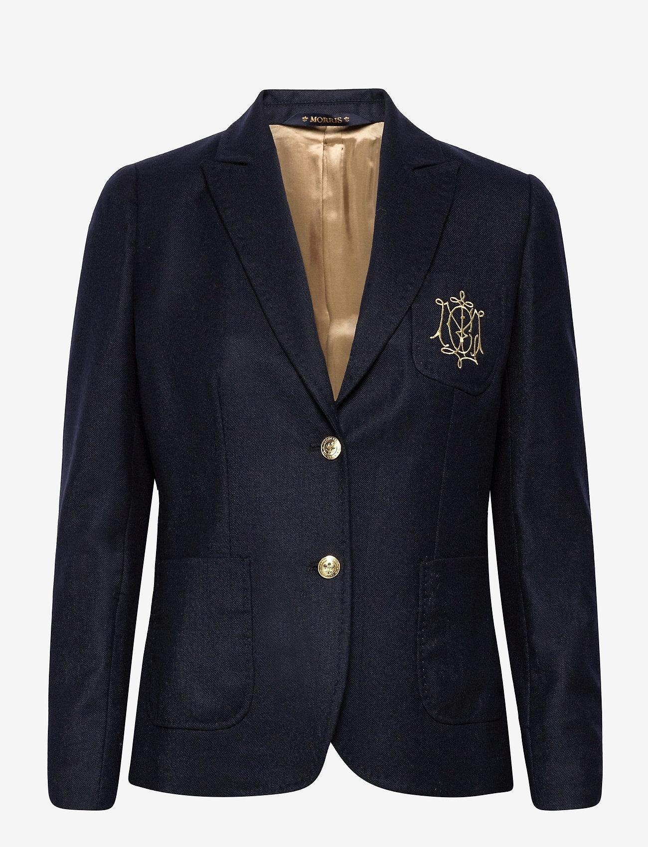 Morris Lady - Delores Flannel Club Blazer - casual blazers - navy - 0
