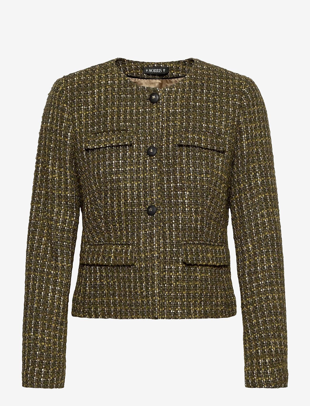 Morris Lady - D'Este Soire Blazer - blazers - olive - 0