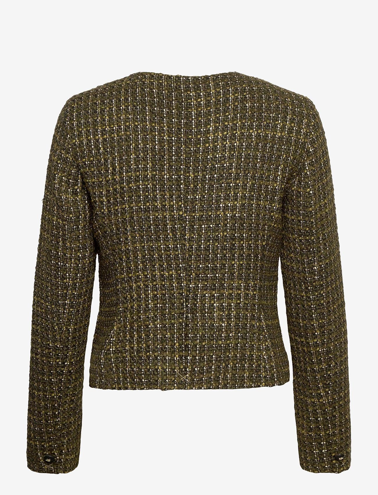 Morris Lady - D'Este Soire Blazer - blazers - olive - 1