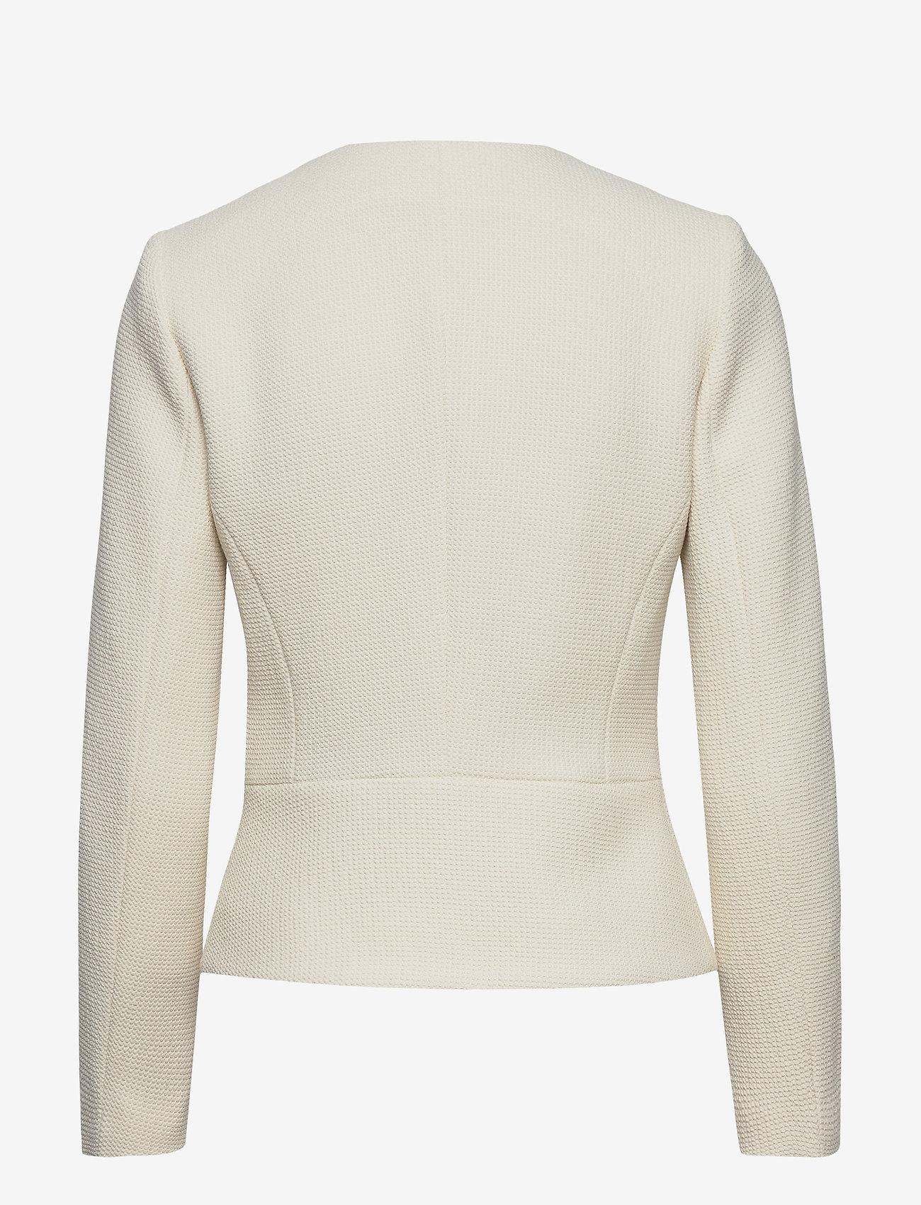 Morris Lady - Basilie Jacket - getailleerde blazers - off white - 1