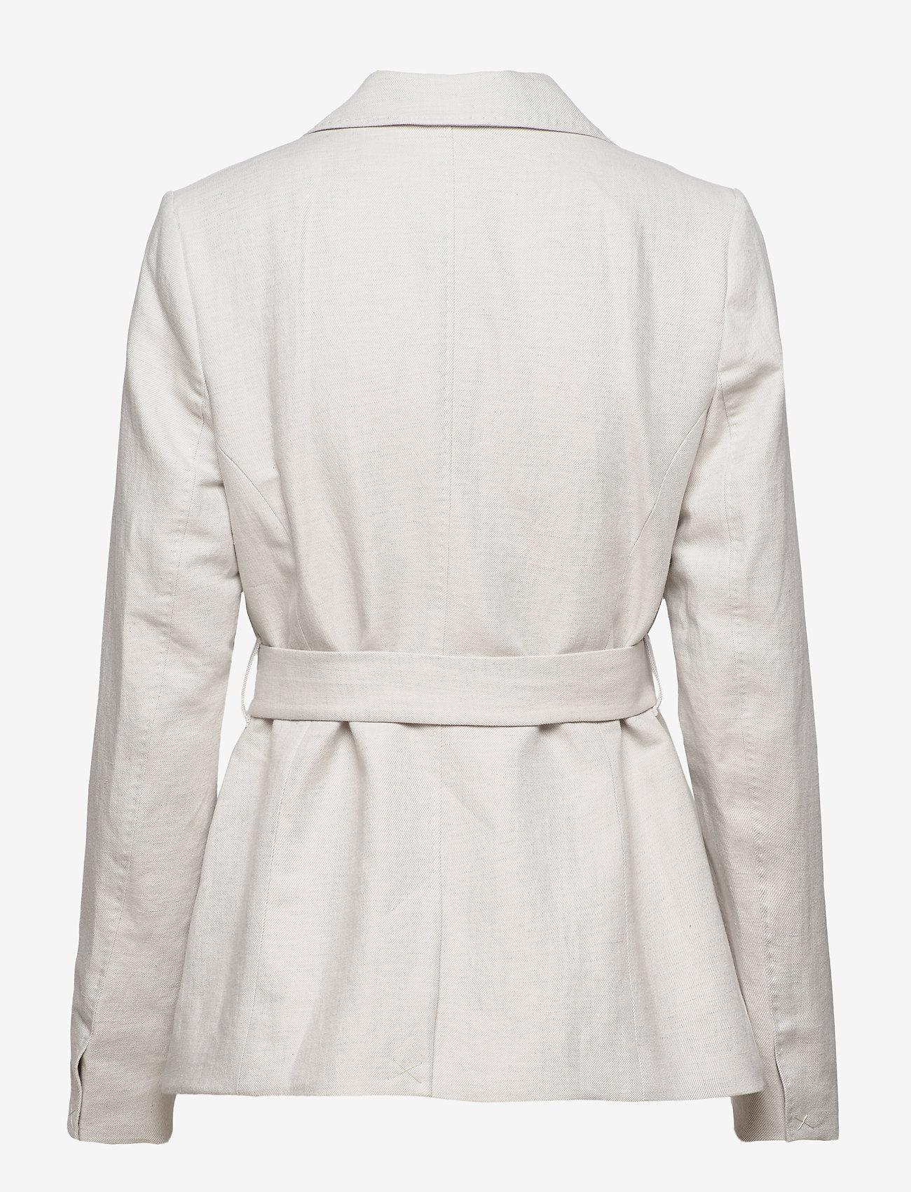Morris Lady - Tiona Linen Blazer - getailleerde blazers - khaki - 1
