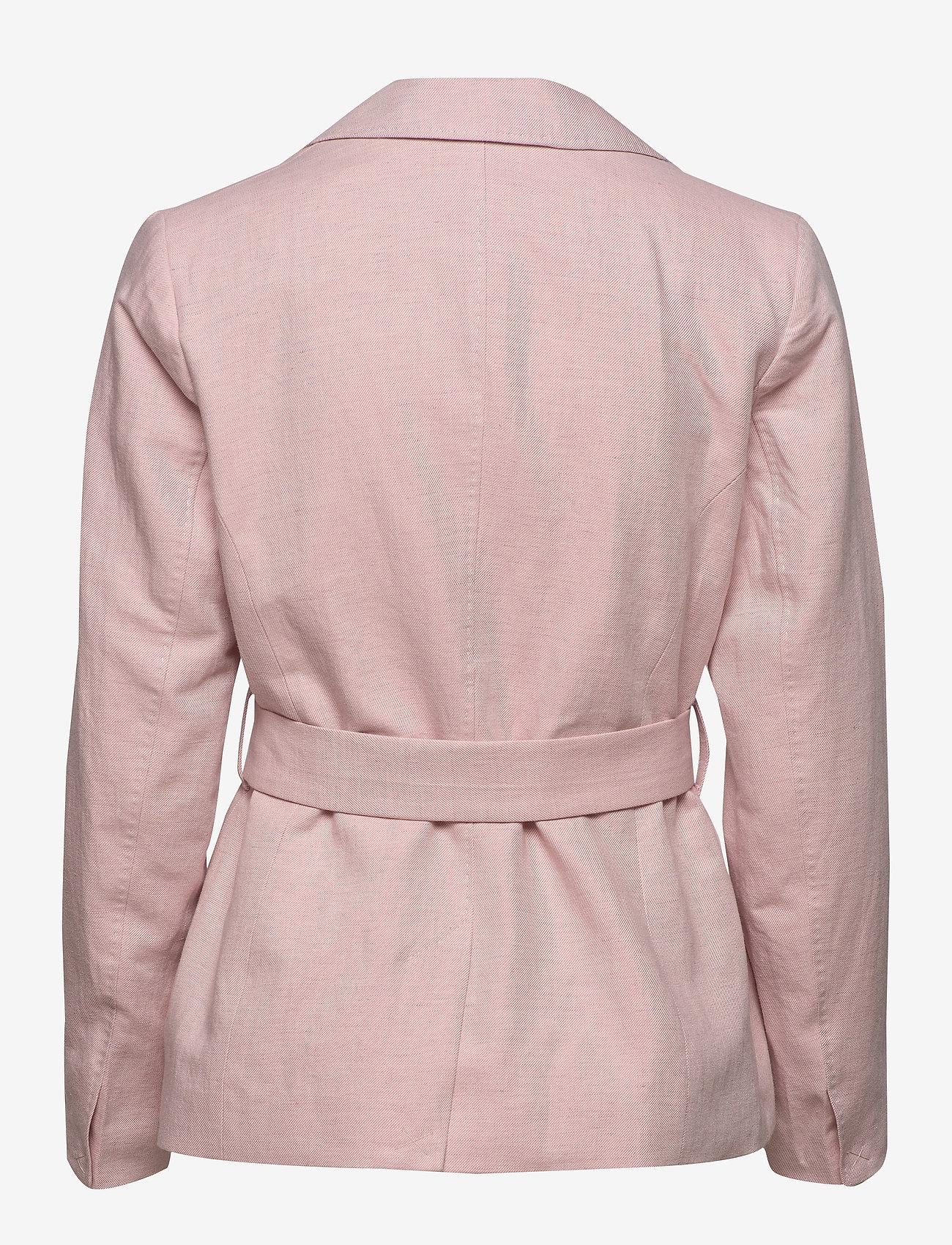 Morris Lady - Tiona Linen Blazer - getailleerde blazers - lt pink - 1