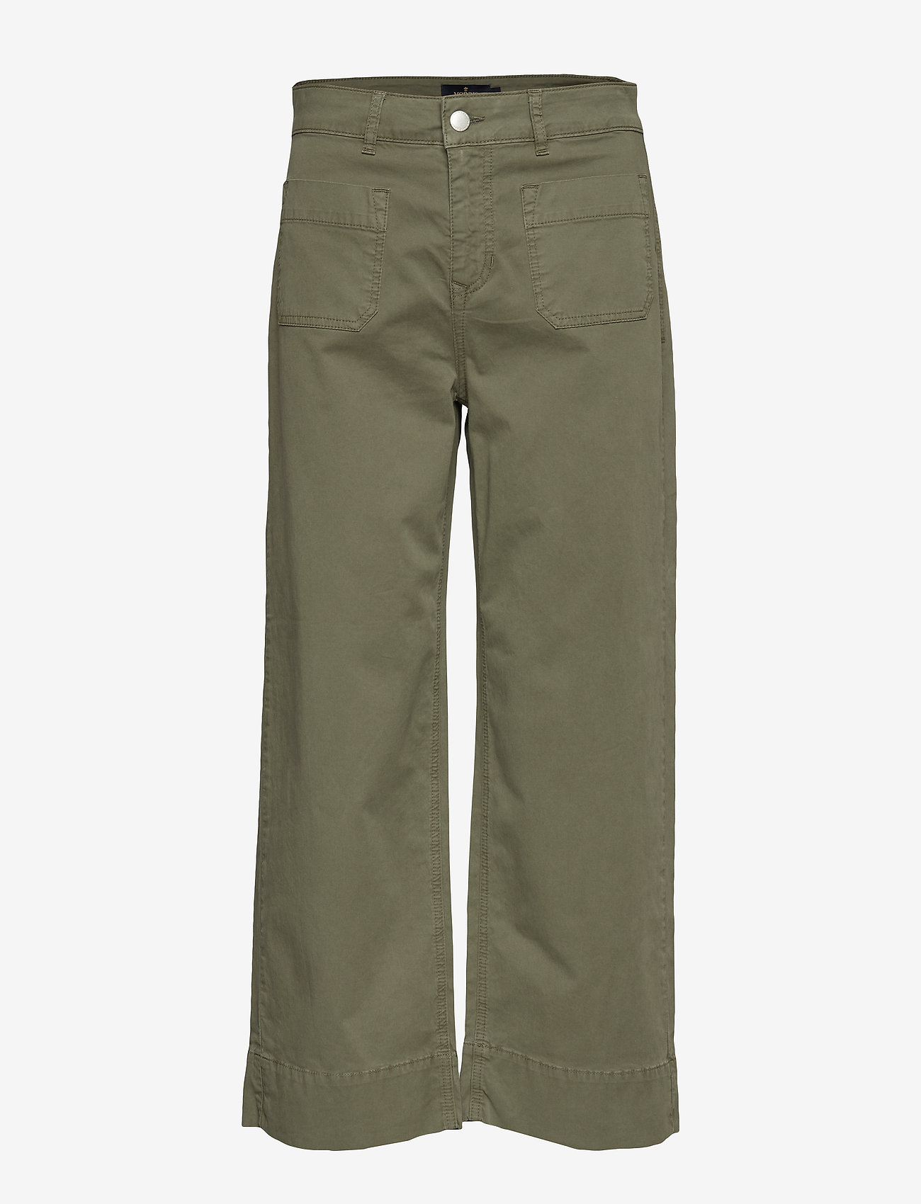 Morris Lady - Manon Trousers - pantalons larges - olive