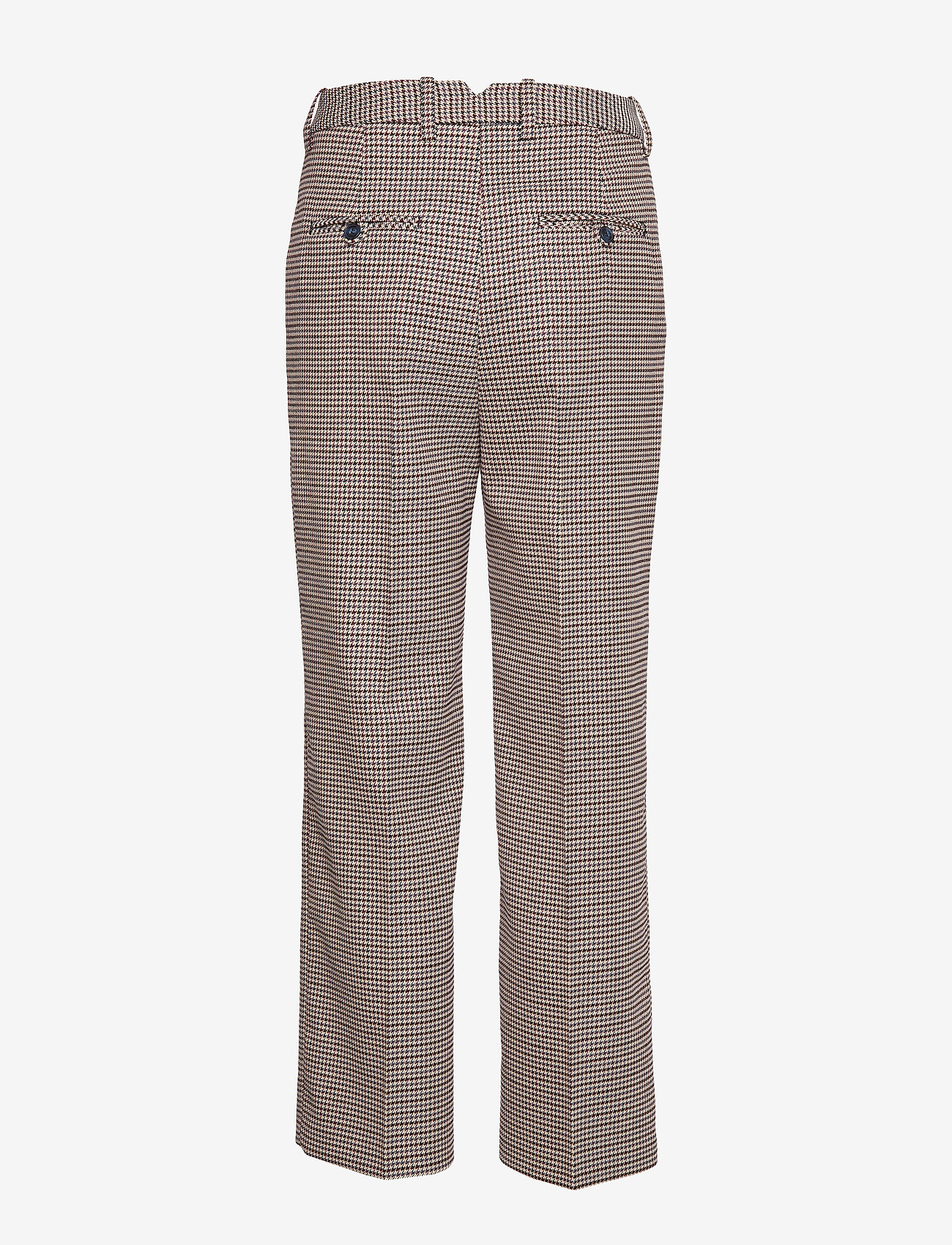 Morris Lady - Arwen Checked Trousers - bukser med brede ben - navy - 1