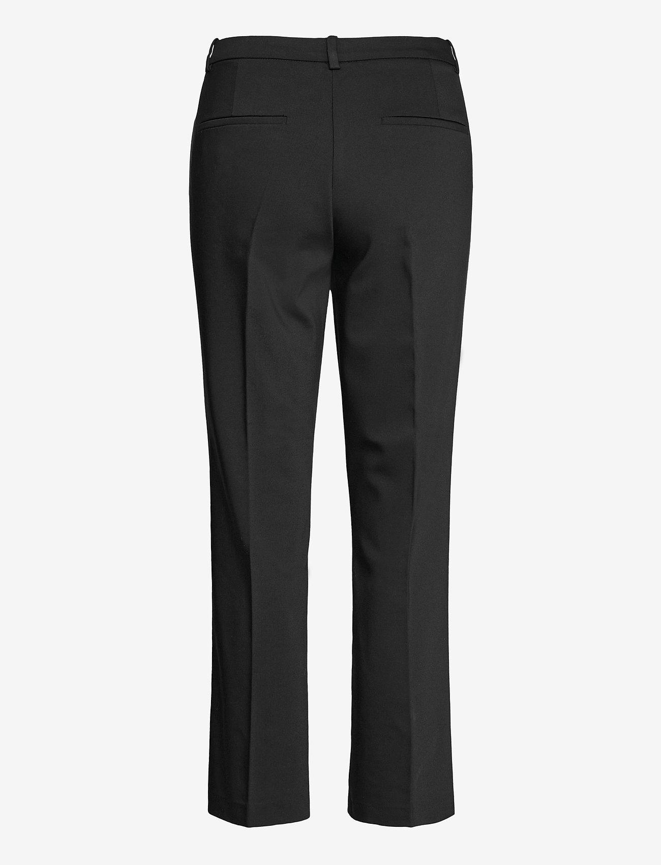 Morris Lady - Anais Trousers - straight leg trousers - black - 1