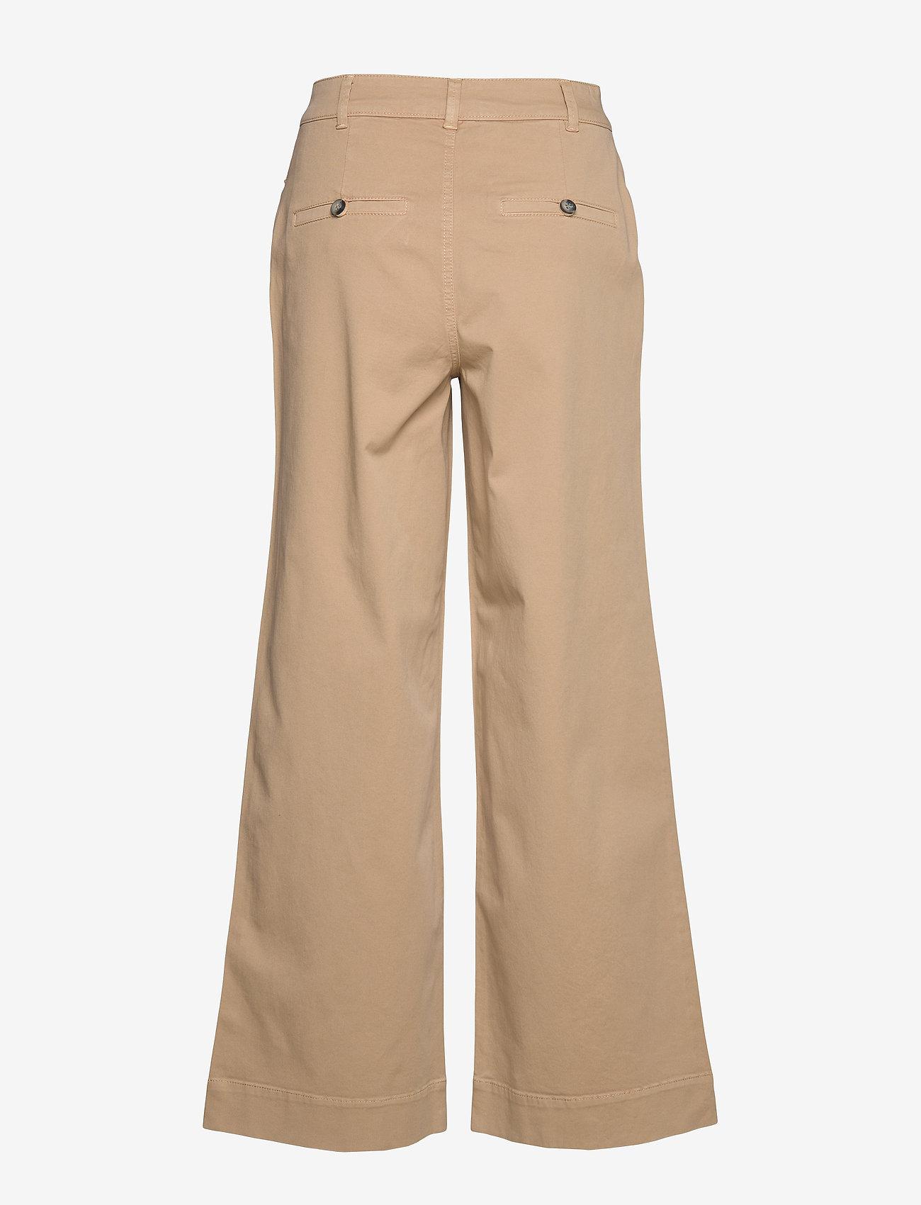 Morris Lady - Francoise Trousers - bukser med brede ben - camel - 1