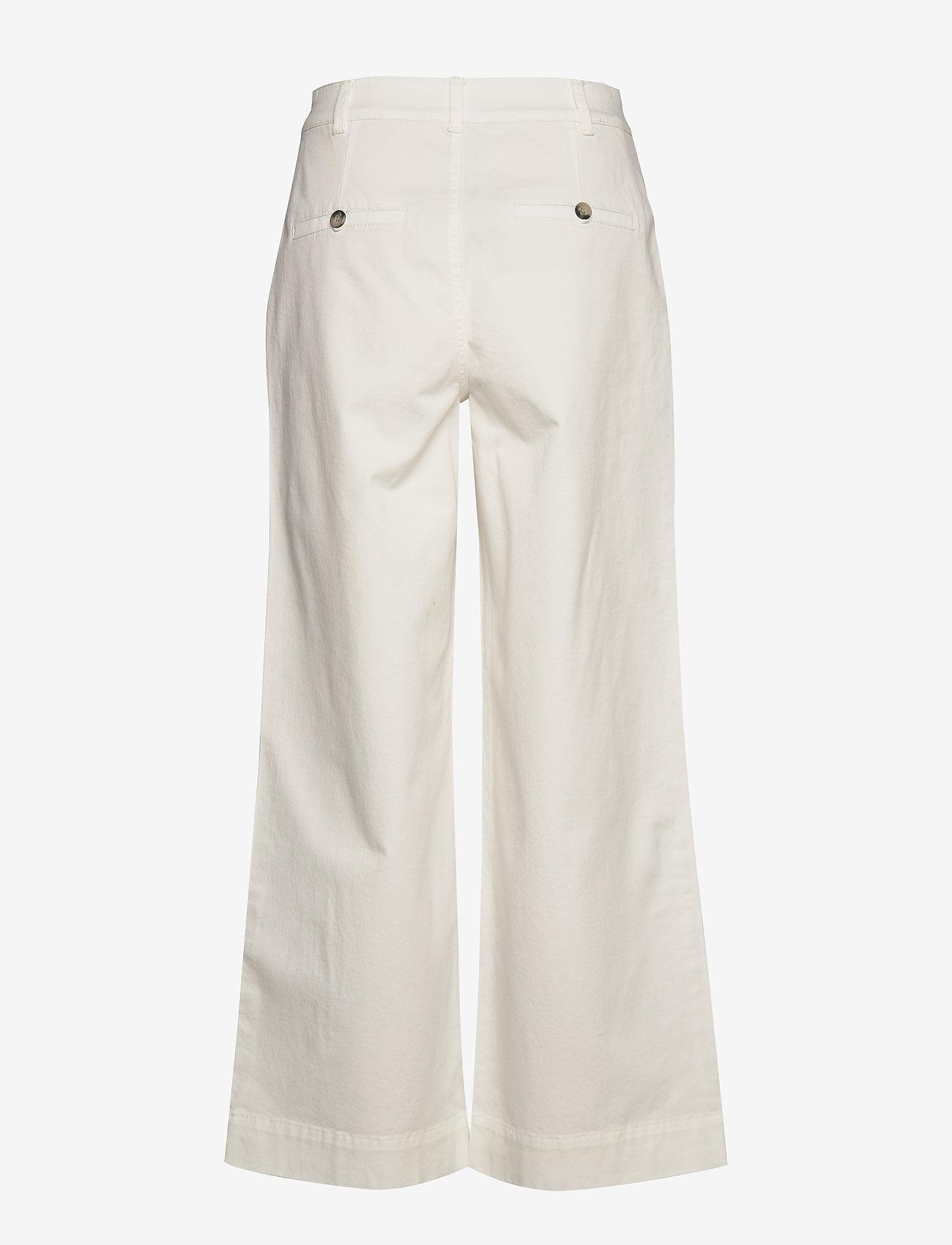 Morris Lady - Francoise Trousers - bukser med brede ben - off white - 1