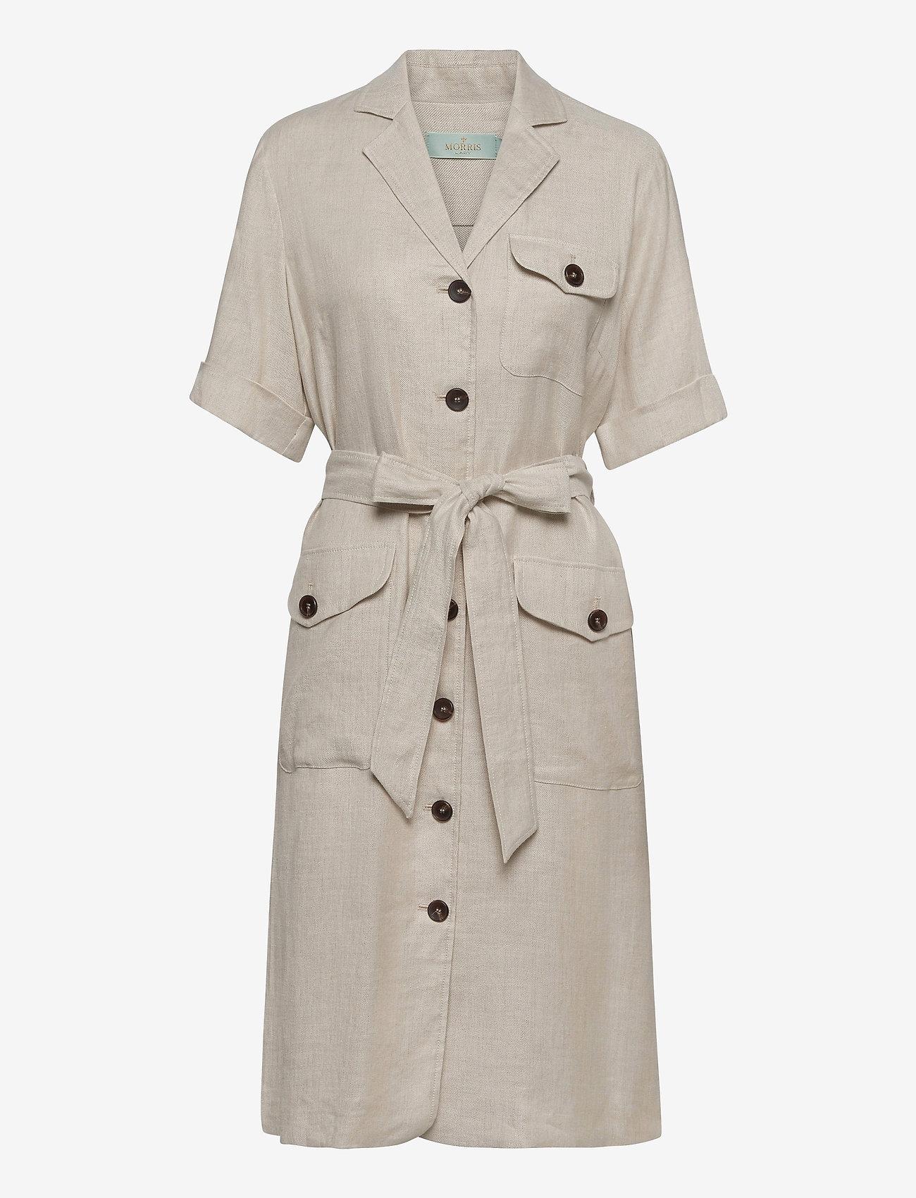 Morris Lady - Blanca Safari Dress - shirt dresses - khaki - 0
