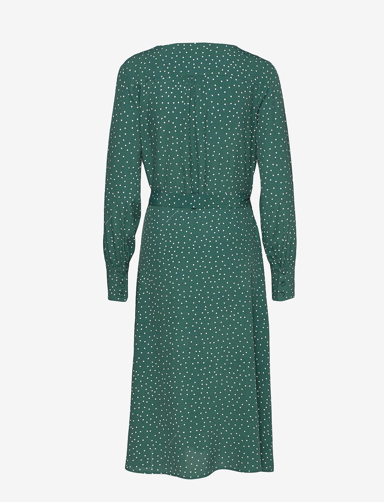 Morris Lady - Aurélie Wrap Dress - wikkel jurken - green - 1