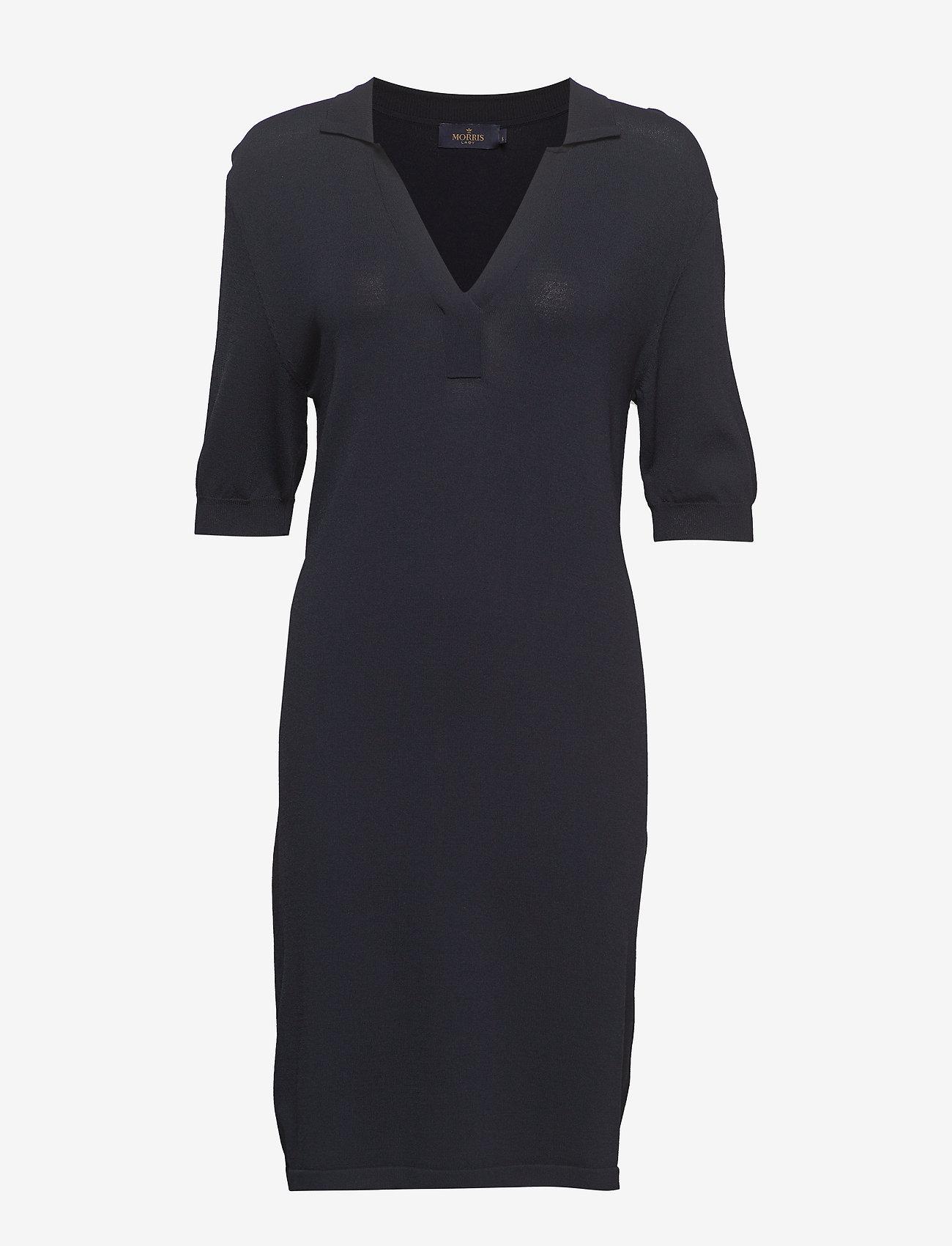 Morris Lady - Coline Knit Dress - gebreide jurken - blue - 0
