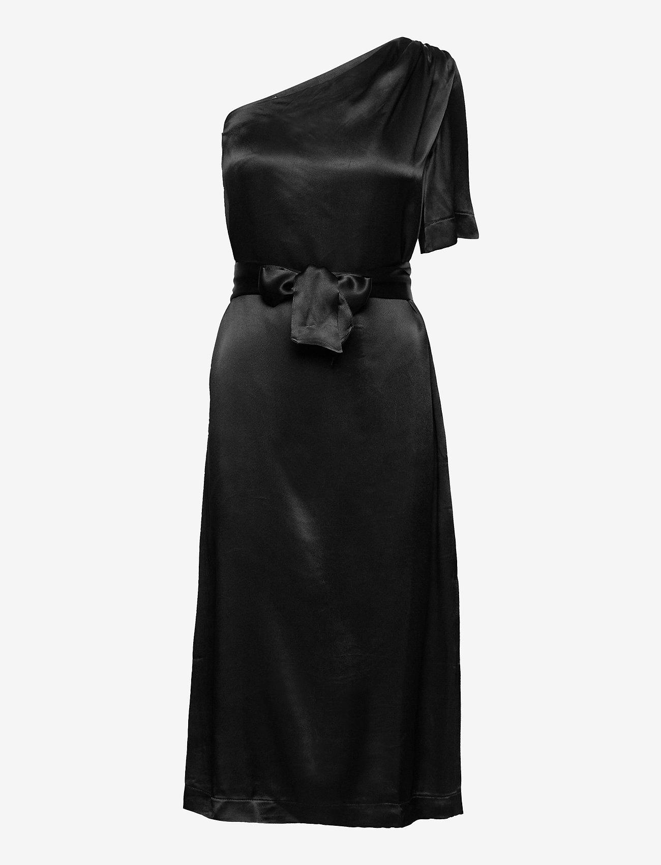 Morris Lady - Roesia Dress - midi dresses - black - 0