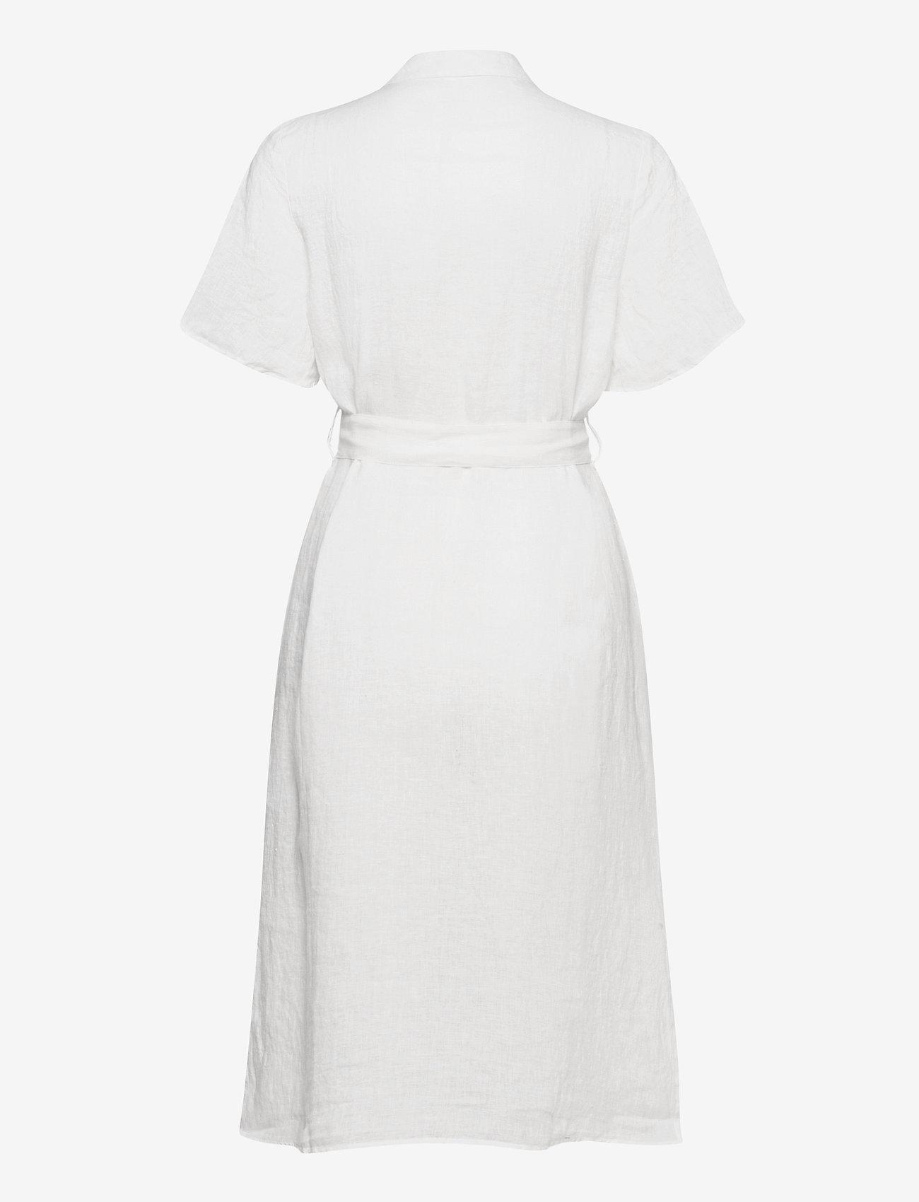 Morris Lady - Hanna Linen Dress - sommarklänningar - off white - 1