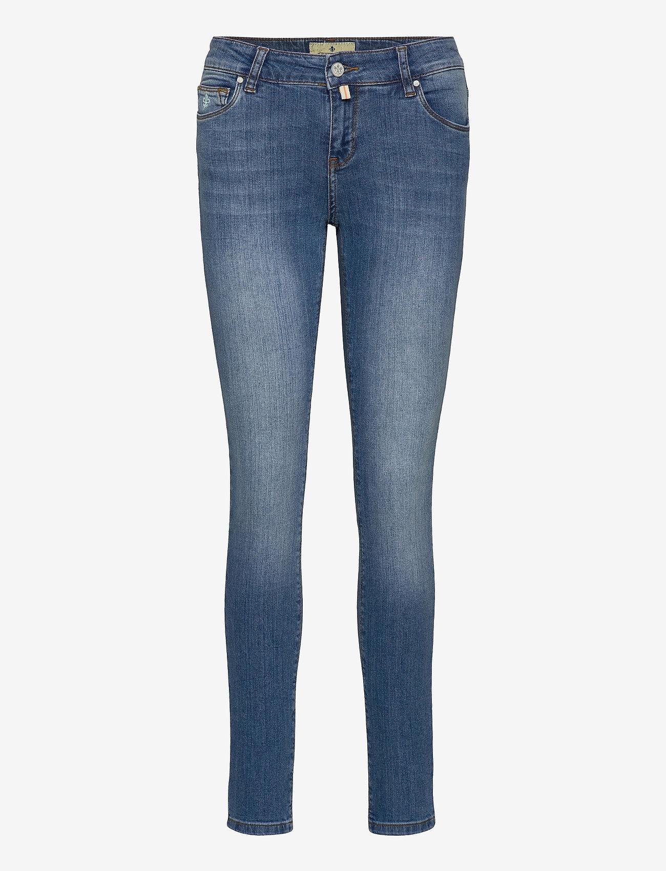 Morris Lady - Monroe Jeans - skinny jeans - lt wash - 0