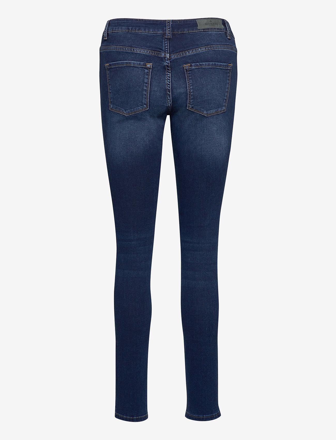 Morris Lady - Monroe Satin Jeans - skinny jeans - blue - 1