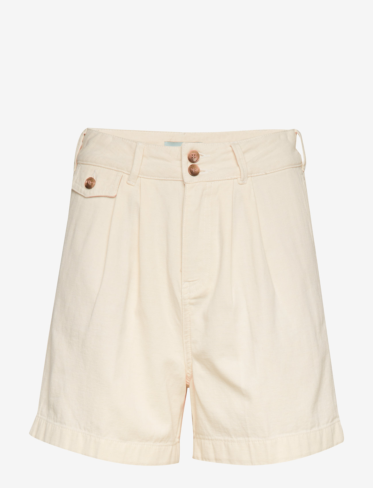 Morris Lady - Paulette Chino Shorts - bermudas - off white - 0
