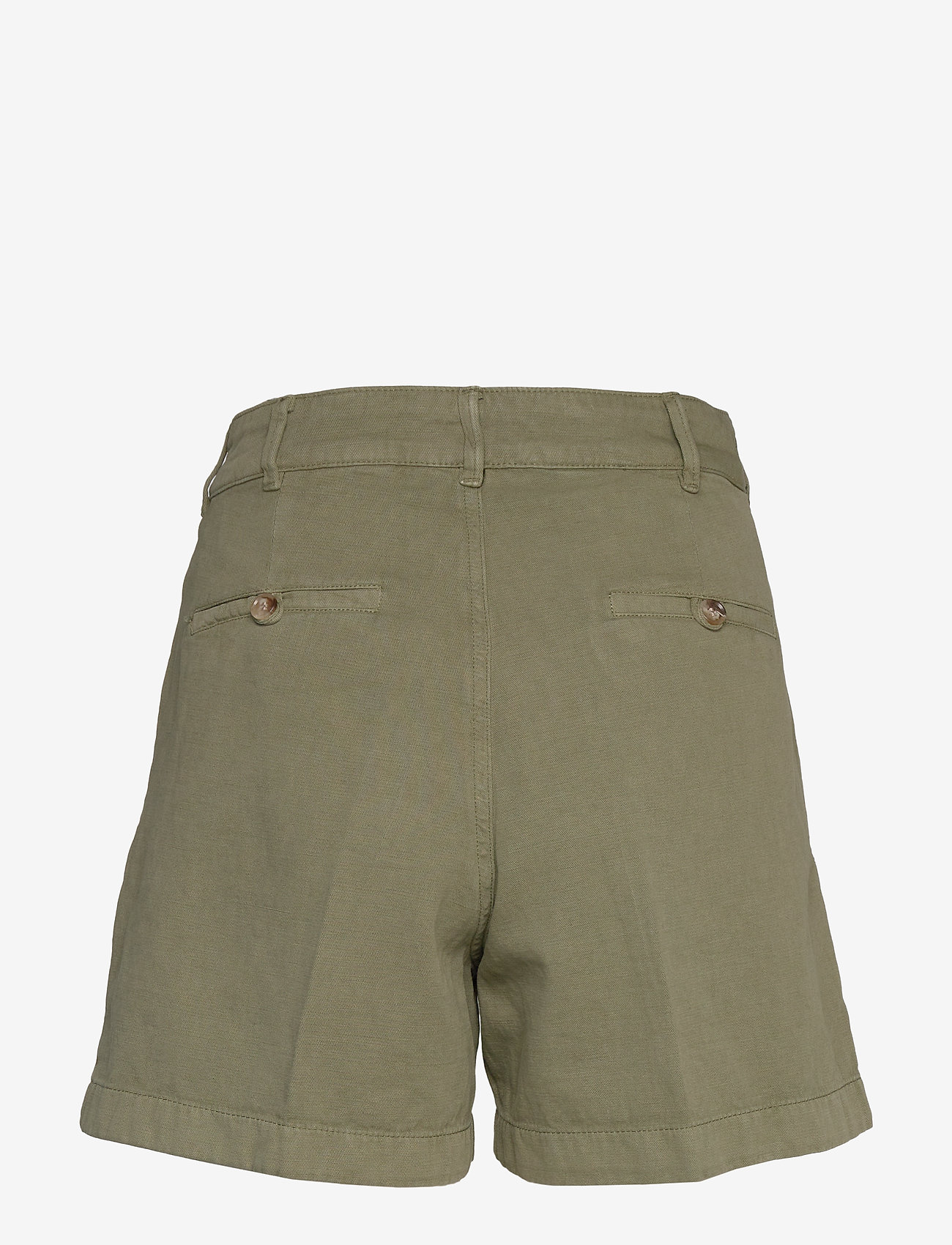 Morris Lady - Paulette Chino Shorts - bermudas - olive - 1