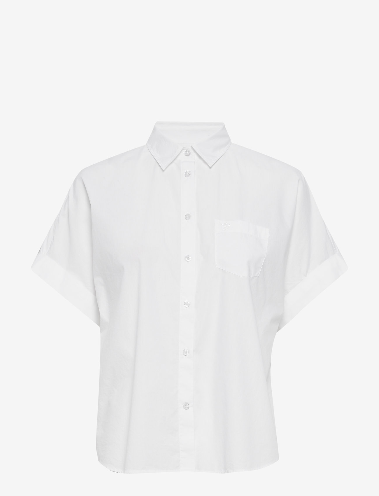 Morris Lady - Margot Short Sleeve Shirt - overhemden met korte mouwen - white - 0