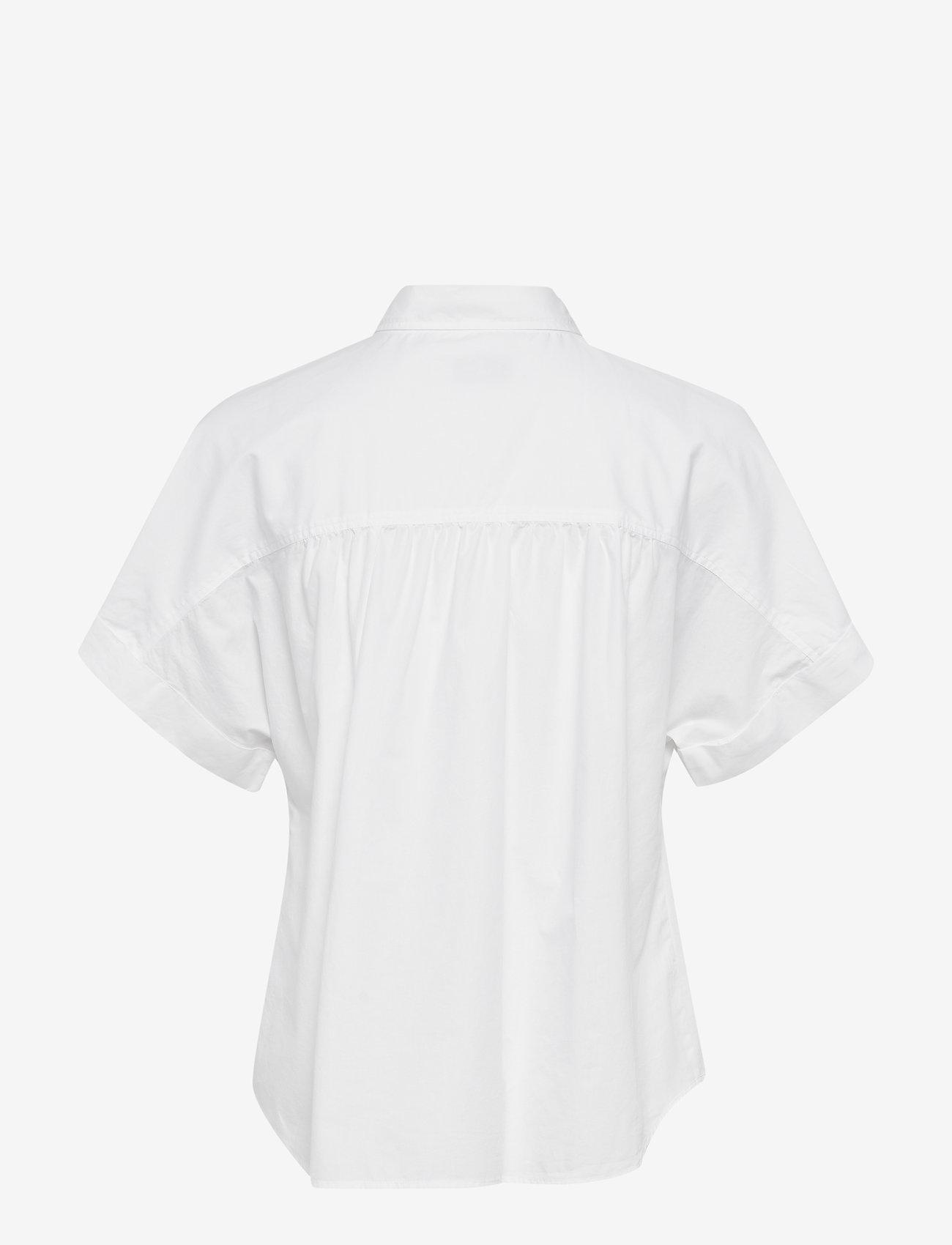 Morris Lady - Margot Short Sleeve Shirt - overhemden met korte mouwen - white - 1