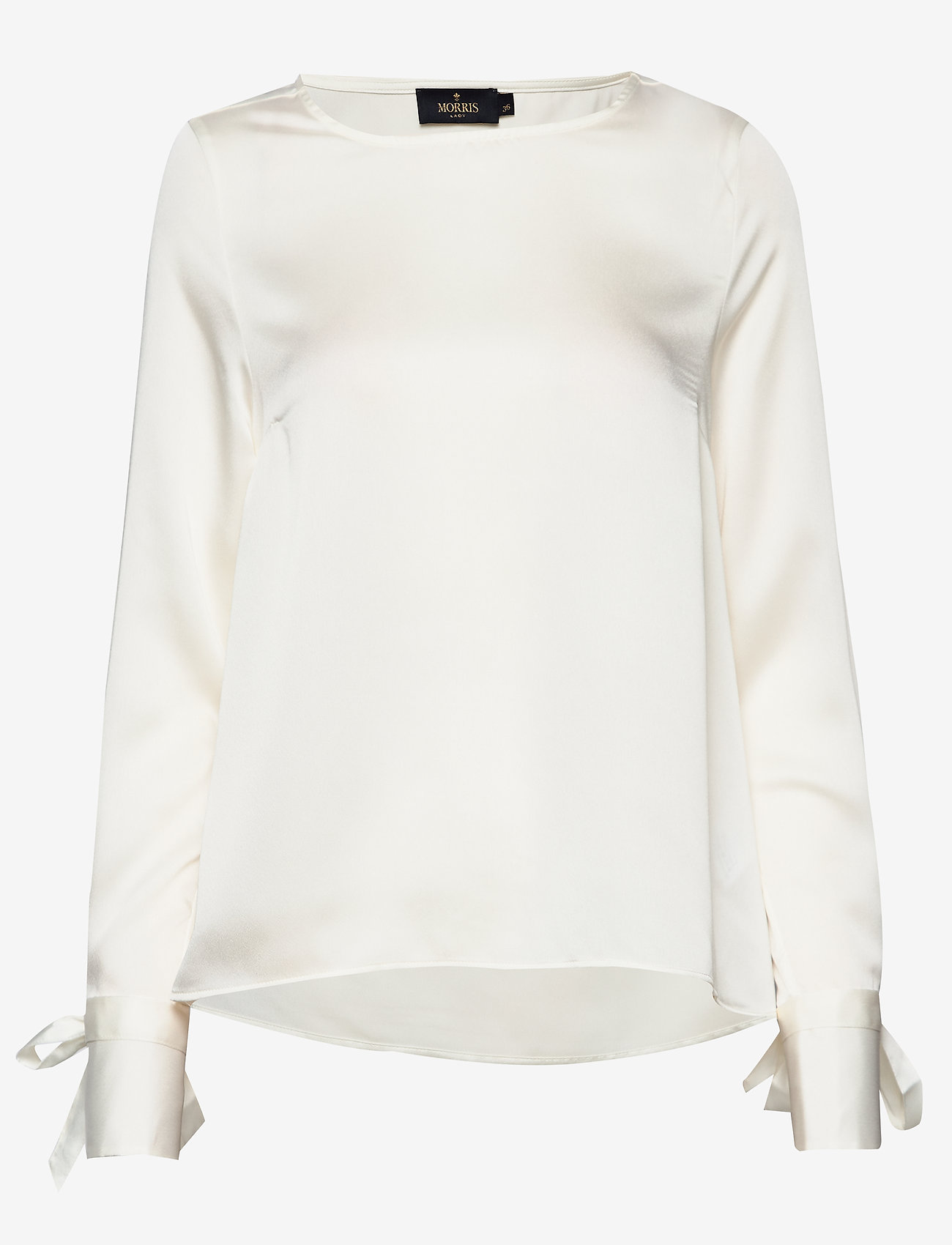 Morris Lady - Kari Blouse - blouses met lange mouwen - off white - 0