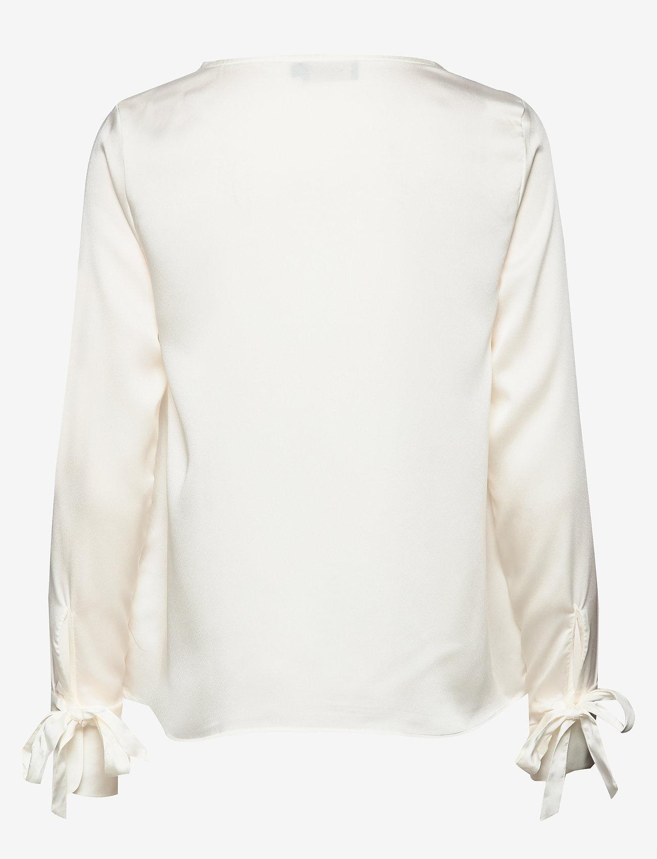 Morris Lady - Kari Blouse - blouses met lange mouwen - off white - 1