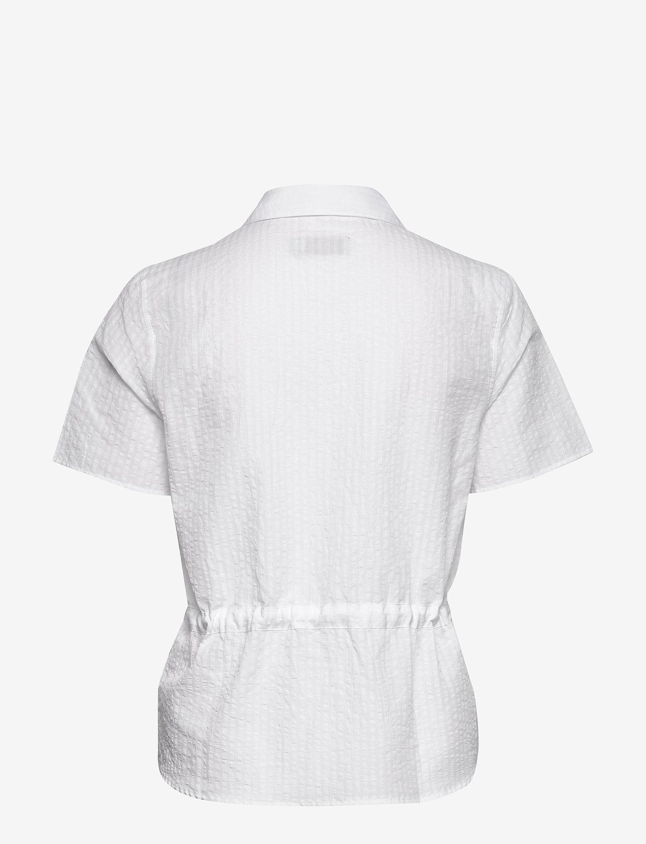 Morris Lady - Ivet Blouse - kortärmade blusar - white - 1
