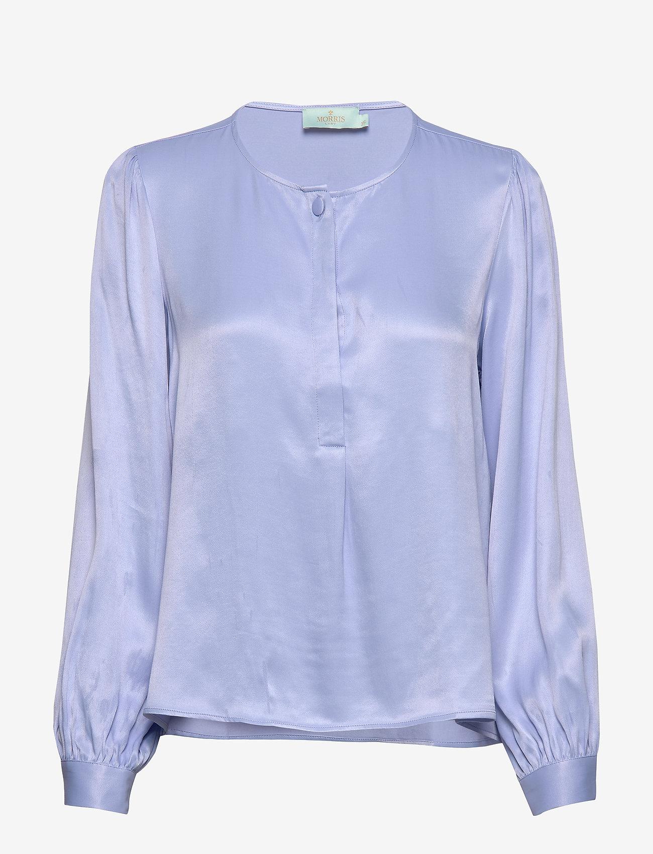 Morris Lady - Ines Blouse - långärmade blusar - blue - 0