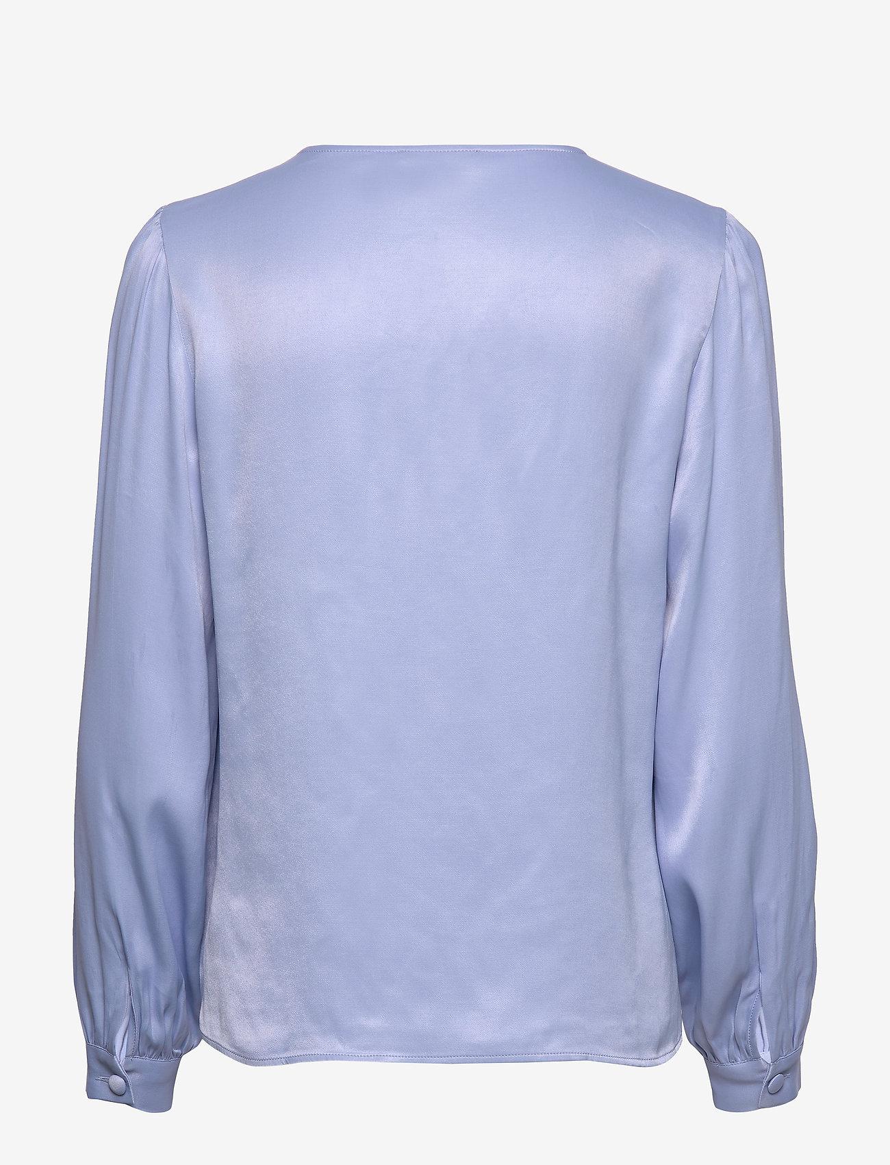 Morris Lady - Ines Blouse - långärmade blusar - blue - 1
