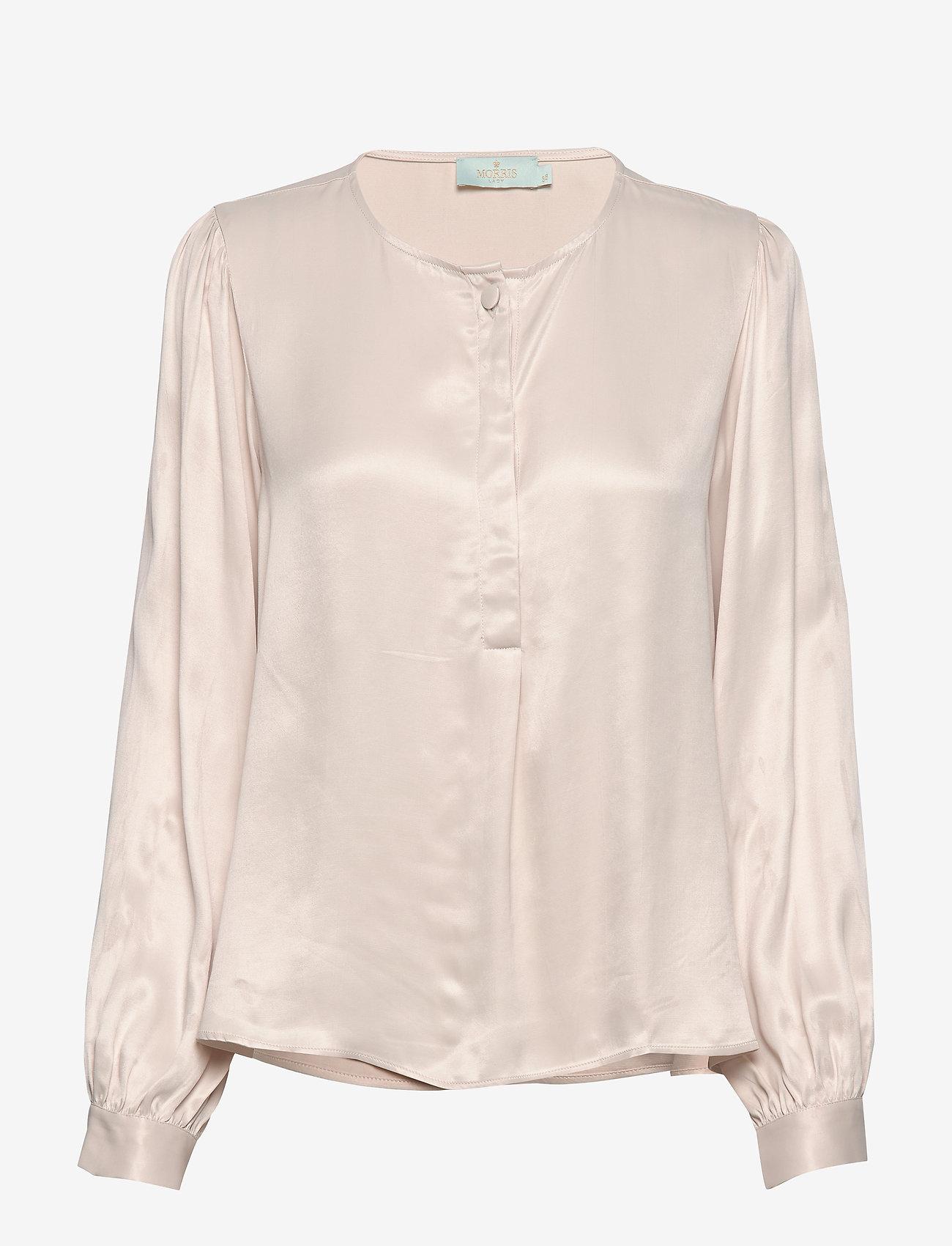 Morris Lady - Ines Blouse - långärmade blusar - off white - 0