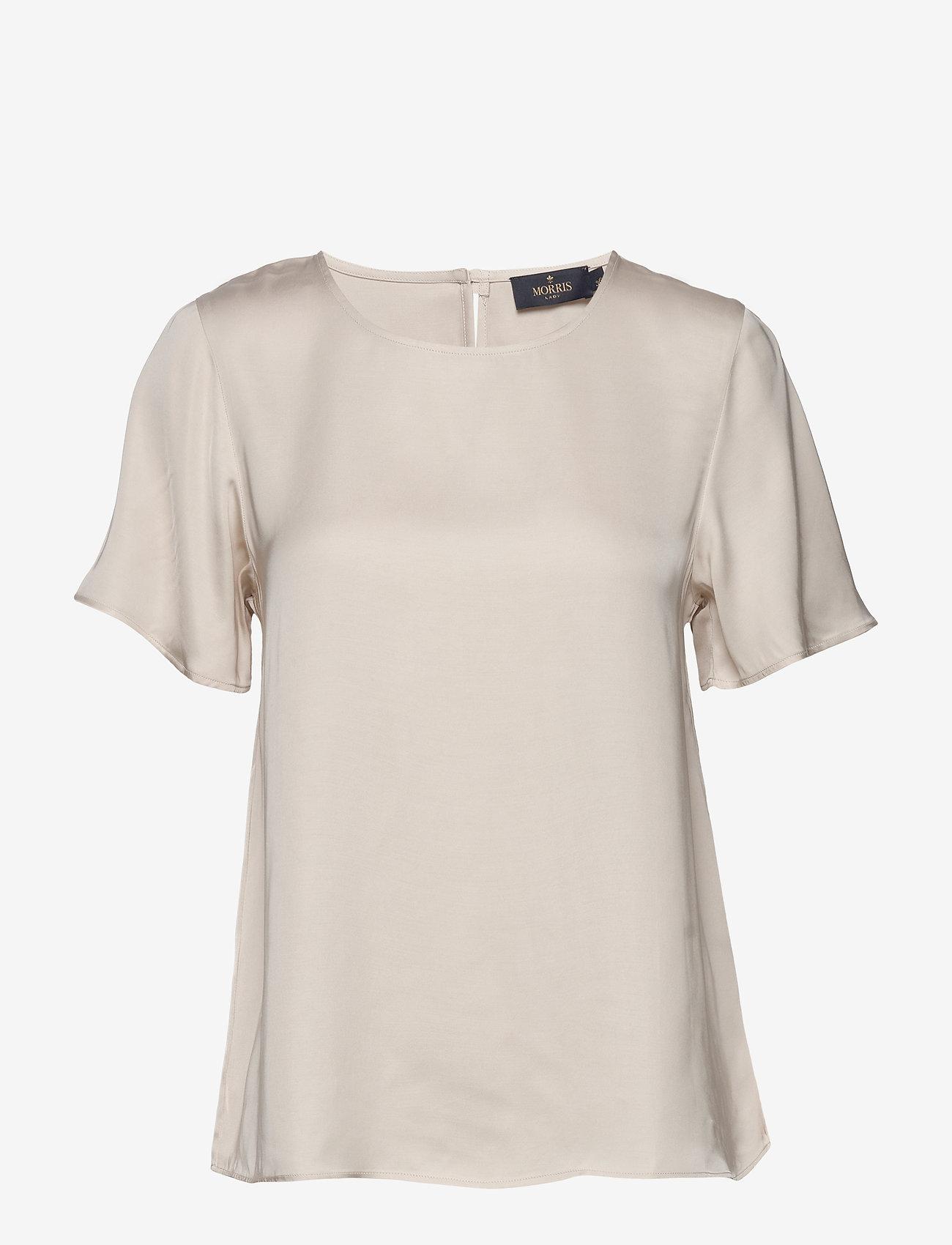 Morris Lady - Julie Blouse - kortärmade blusar - off white - 0