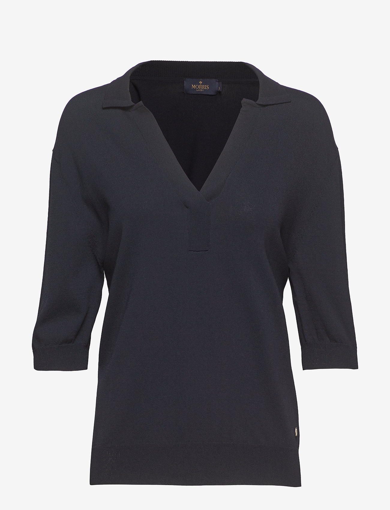 Morris Lady - Coline Knit - strikkede toppe - blue - 0